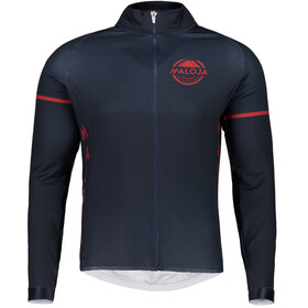 Maloja PushbikersM. 1/1 Bike Jersey Longsleeve Men blue